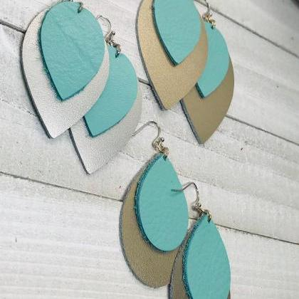 Leather Earrings | Leather Earrings..