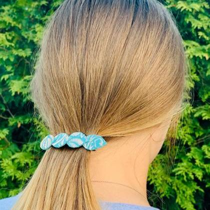 Cute Hair Clip | Leather Hair Clip|..